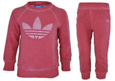 Vestiti e abbigliamento rose adidas per bambina da 0 a 24 mesi 100% Cotone