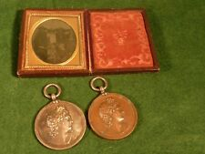 Royal Academy of Music Bronze Medal 1886 & Silver 1888 For Singing