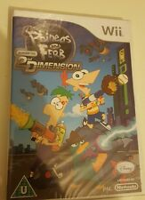 Phineas and Ferb: Across the 2nd Dimension (Nintendo Wii Game NEW & SEALED PAL