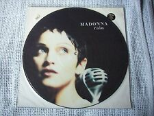 "Madonna- Rain/Up Down Suite/Open Your Heart Pic Disc UK 12"" Vinyl"