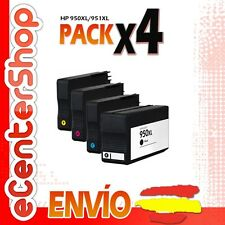 4 Cartuchos de Tinta NON-OEM 950/951XL - HP Officejet Pro 8600 Plus