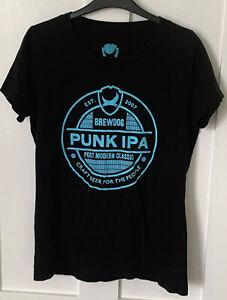 BrewDog - Punk IPA Logo Craft Beer T-shirt - Size Large