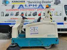 More details for tennant 6200 battery ride on floor sweeper