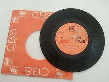 "Bob  Dylan  ISRAELI RAREST 7"" SINGLE  Like A Rolling Stone/Gates Of Eden"