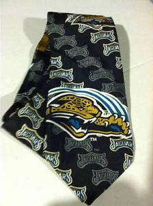 Jacksonville Jaguars Black Standard Necktie