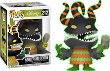 FUNKO POP! Nightmare Before Christmas Harlequin Demon Glow in the Dark - limited