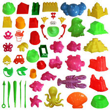 46pcs Sand Molding Toys Activity Sand Art Kits Deluxe Kinetic Mold for Sands