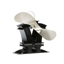Caframo 806CA-BBX Ecofan BelAir 140 CFM Heat Powered Circulation Stove Fan, Gold