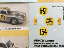 1/43 Decal, Porsche 550 Coupe, #154 Aso Guatemala, Panamericana 1953