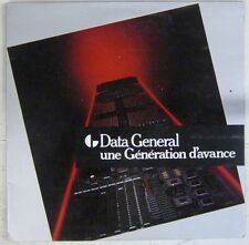 Data General 33 tours Publicitaire 1984