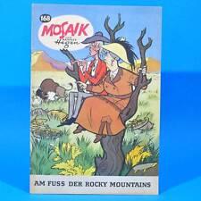 Mosaik 168 Digedags Hannes Hegen Originalheft   DDR   Sammlung original MZ 11