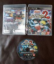 Naruto Shippuden: Ultimate Ninja Storm 2 (Sony PlayStation 3, 2010)