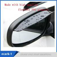 2X NEW Cars Rear View Side Mirror Rain Board Eyebrow Guard Sun Visor Accessories