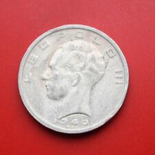 Belgium-bélgica: 50 Frank 1940 plata, km # 121, # f 0865, SS-VF