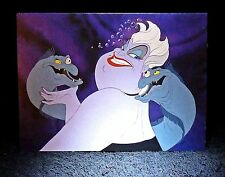 DISNEY 2015 ''URSULA Sea Witch'' Mini Notecard -Greeting Card Little Mermaid NEW