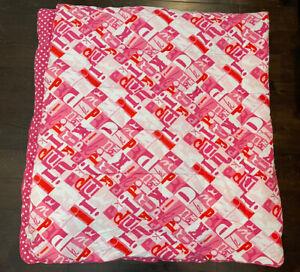 Victoria's Secret VS PINK Vintage Reversible Comforter Full RARE HTF Never Used
