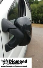 Renault Trafic Carbon Fibre Effect Wing Mirrors Covers (2006-2013) left side