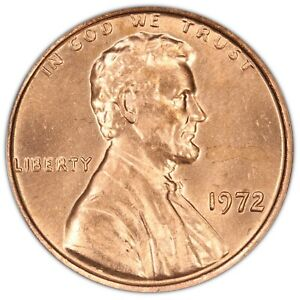 1972 Lincoln Cent- Doubled Die Obverse FS-108 DDO-008 ANACS MS 65 RED