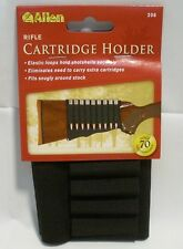 Allen Rifle Buttstock Cartridge Holder Elastic Loops Fits Snug Holds 9