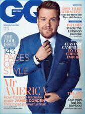 GQ Magazine British September 2016 James Corden Craig Wright BITCOIN Wes Lang