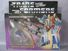 "Transformers G1 ""STARSCREAM"" 100% Complete w/ BOX VINTAGE 1984"