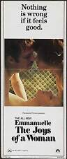 EMMANUELLE 2 Movie POSTER 14x36 Insert Sylvia Kristel Umberto Orsini Fr d ric