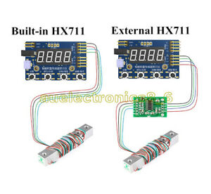 HX711 Load Cell AD Module Weight Sensor Digital Display Electronic Scale NEW