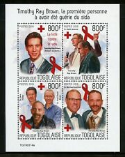 Togo 2019 The Battle Against Aids Sheet Mint Never Hinged