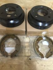 Yamaha Golf Cart Brake Shoes Brake Drums G1,G2,G8,G9 Brake Shoe & Drum Kit 82-92