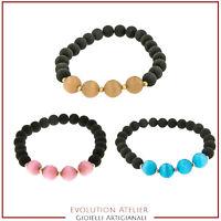 bracciale braccialetto multicolore unisex in cuoio Seminole leather bracelet