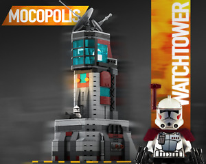 LEGO MOC Star Wars Clone Base Watchtower | PDF instructions (NO PARTS)