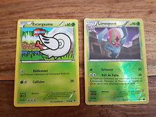 Cartes Pokémon ESCARGAUME LIMASPEED PV 90 11/108 Reverse Noir Blanc Ex. Obscurs