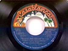 """BUDDY MILES """"ROCKIN AND ROLLIN IN THE STREETS OF HOLLYWOOD / SAME"""" 45 MINT PROMO"""