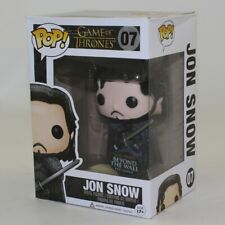 Funko POP! Game of Thrones Figure - JON SNOW #07 (Beyond the Wall Exclusive) *NM