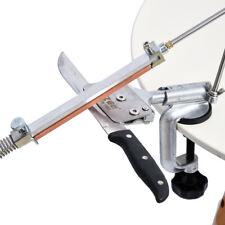 Aiguiseur Couteau Affûtage Professionnel 360° Angle Fixe Avec 4 Pierres Métal NF
