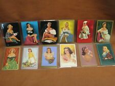 Lot 12 Pin-up Girl Model Swap Playing Cards