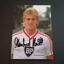 MANFRED KASTL HSV signiert 10 x 15 Autogrammkarte !
