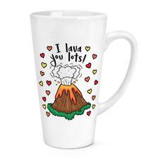 IO ti LAVA lotti 17 OZ (ca. 481.93 g) Grande Latte Macchiato tazza-Divertente Giorno San Valentino Amore fidanzata