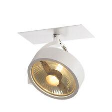 Intalite KALU recessed spotlight 50W ES111, 1 spot, matt white, 1x 50W ES111