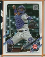 2021 Topps Baseball - Advanced Stats - #165 Willson Contreras - Cubs - 122/300