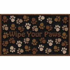 Doormat Floor Rug Carpet Non Slip Rubber Home Outdoor Entrance Stain Resistant