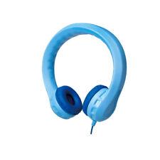 LogiLink Kinder Kopfhörer Kids Kindersicher gepolstert extrem biegsam 85db blau