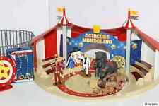 Märklin 124589-Set Circus Mondolino Zirkuszelt-Set mit 10 Spielfiguren Musikbox