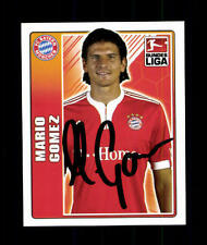 Mario Gomez Bayern München Topps Sammelbild Original Signiert+ A 154298