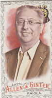 2016 TOPPS ALLEN & GINTER MINI BLACK BORDER CARD #240 ROBERT RAIOLA