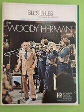 Bill's Blues, Woody Herman Series, arr. Bill Stapleton, Big Band