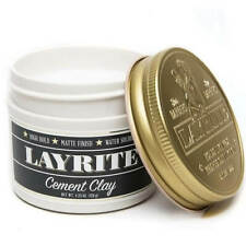 Layrite CEMENT CLAY Hair Grooming Hair Styling Barber - 120g