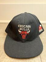 Vintage 90's Chicago Bulls Sports Specialties NBA Black Snapback Hat OSFA Youth