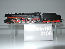Märklin 3108 Dampflok, Schlepptenderlok BR 44 481 der DB, TOP!! Sonderserie OVP