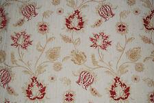 "Voyage soft furnishing fabric ""Meribel"", Polyester/Cotton, red, remnant 1.4m"